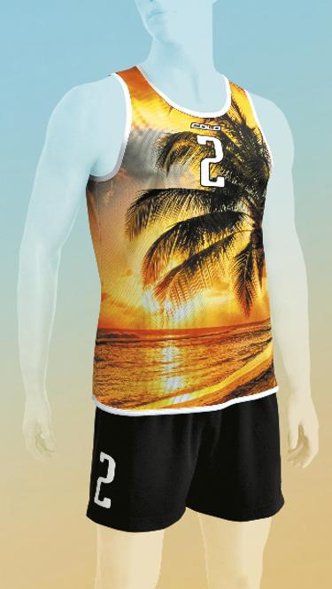 Strój do siatkówki plażowej Colo Nut - SUBLIMACYJNY