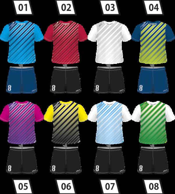 Strój piłkarski Colo Trace - SUBLIMACYJNY